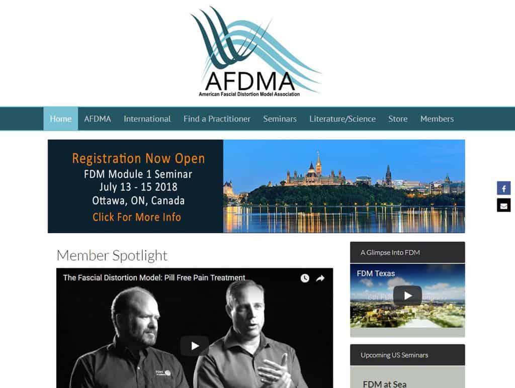 AFDMA Screen Shot