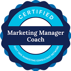 Duct tape marketing certified marketing manager coach